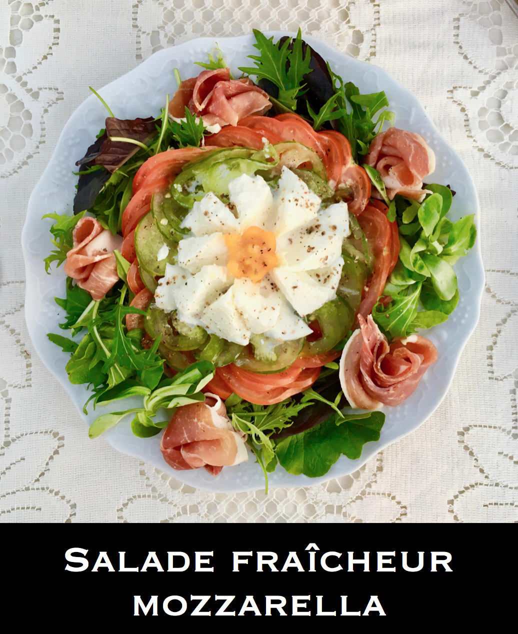 Salade fraîcheur mozzarella