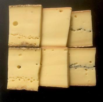 Kit raclette 3 fromages : Morbier + Raclette + Tomme Fort Saint Antoine
