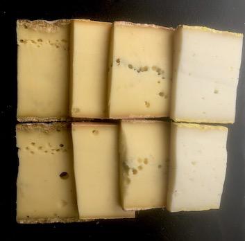 Kit raclette 4 fromages : Raclette + Morbier + Tomme fort saint Antoine + Fouchtra de chèvre