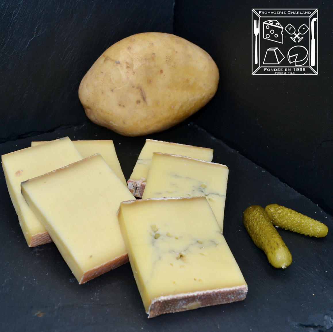 Kit raclette 2 fromages